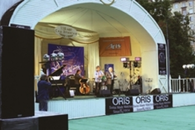 "Acoustic systems «REC» of CS series at the International Festival ""Jazz at the Hermitage Garden"" in Moscow"